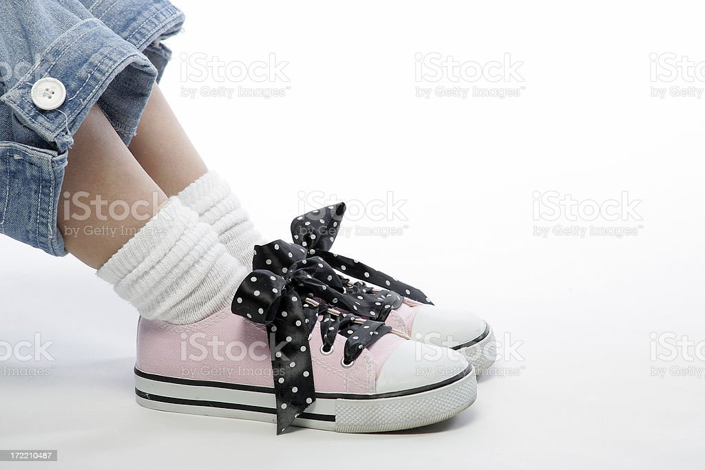 Pink Shoes 0010 stock photo