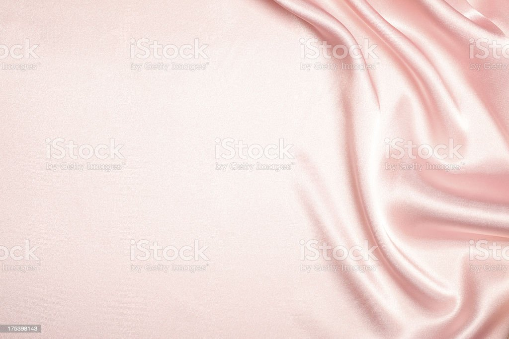 Pink Silk Background stock photo
