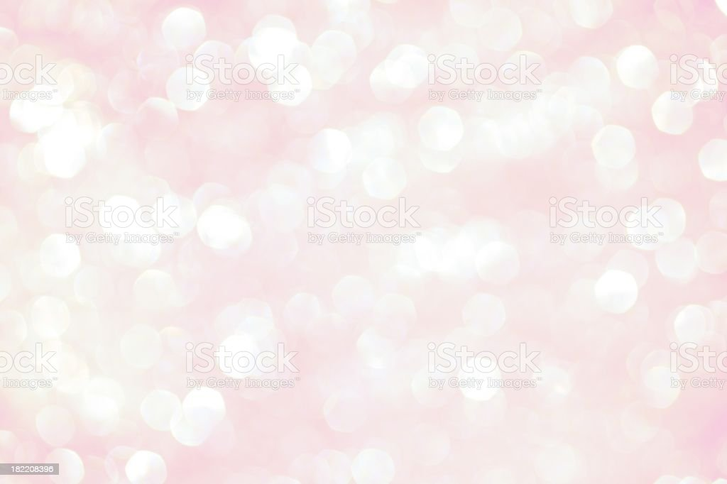 Pink Sparkle Background royalty-free stock photo