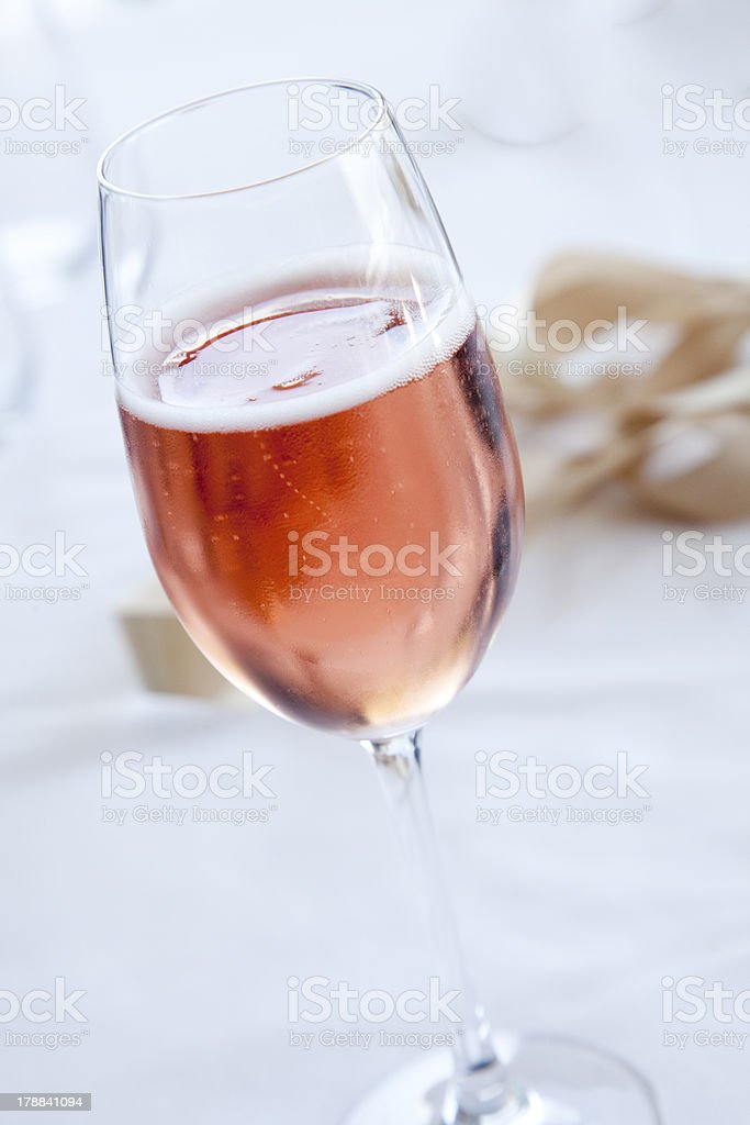 Pink Sparkling Rose royalty-free stock photo