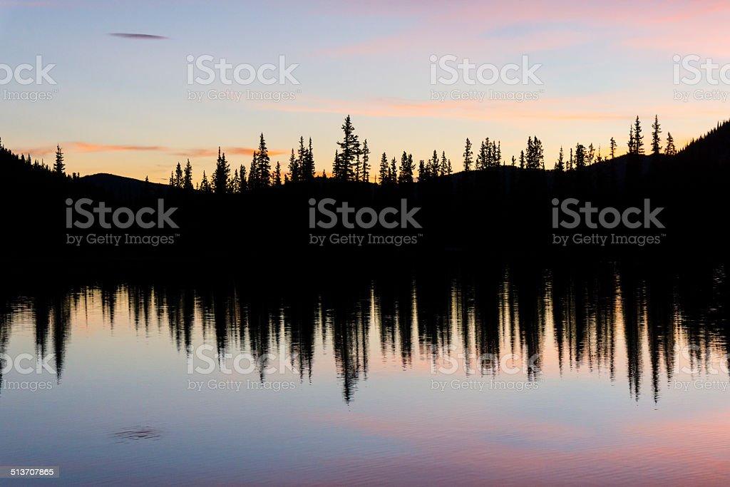Pink Sunrise royalty-free stock photo