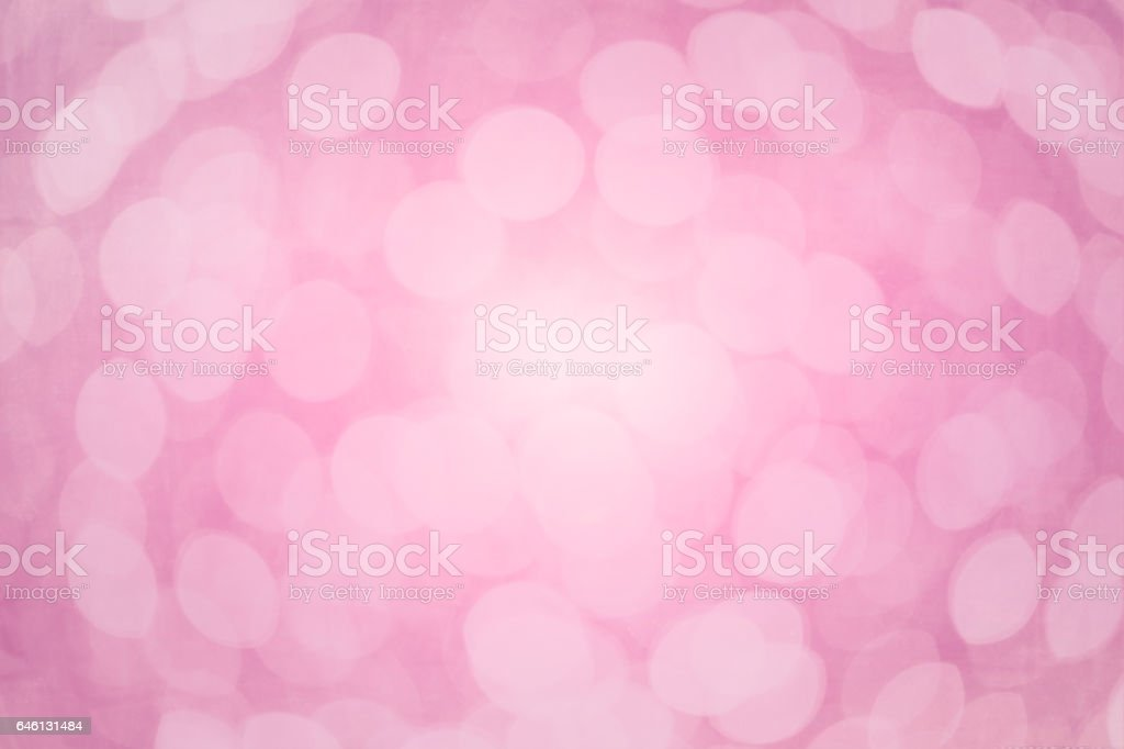 pink sweet blur bokeh for background stock photo