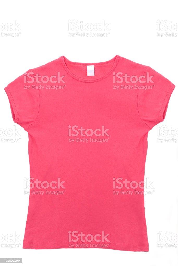 Pink Tee Shirt stock photo