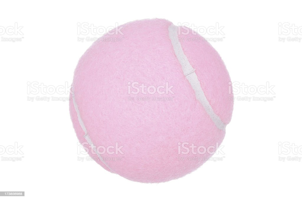 Pink Tennis Ball (XL) royalty-free stock photo