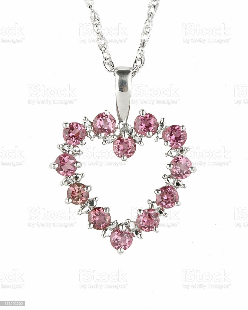 Pink Topaz royalty-free stock photo