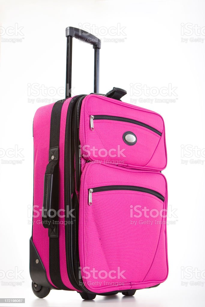 Pink Travel Gear royalty-free stock photo