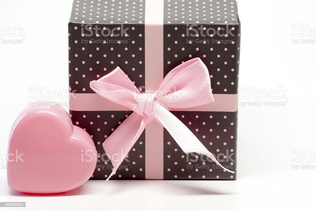 Pink Valentine stock photo