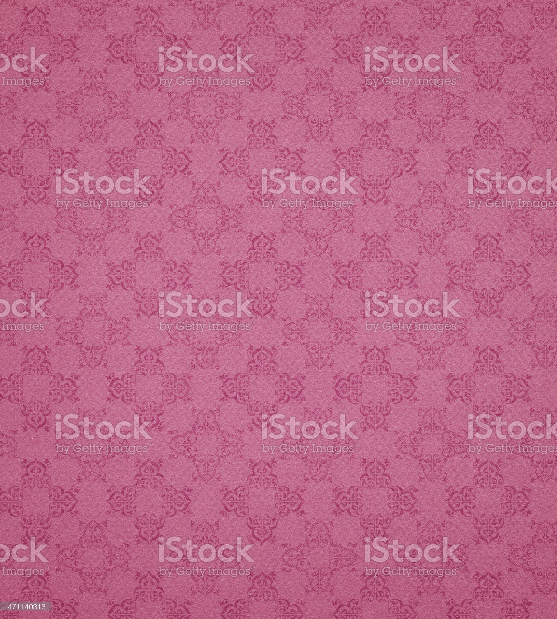 pink wallpaper pattern royalty-free stock photo