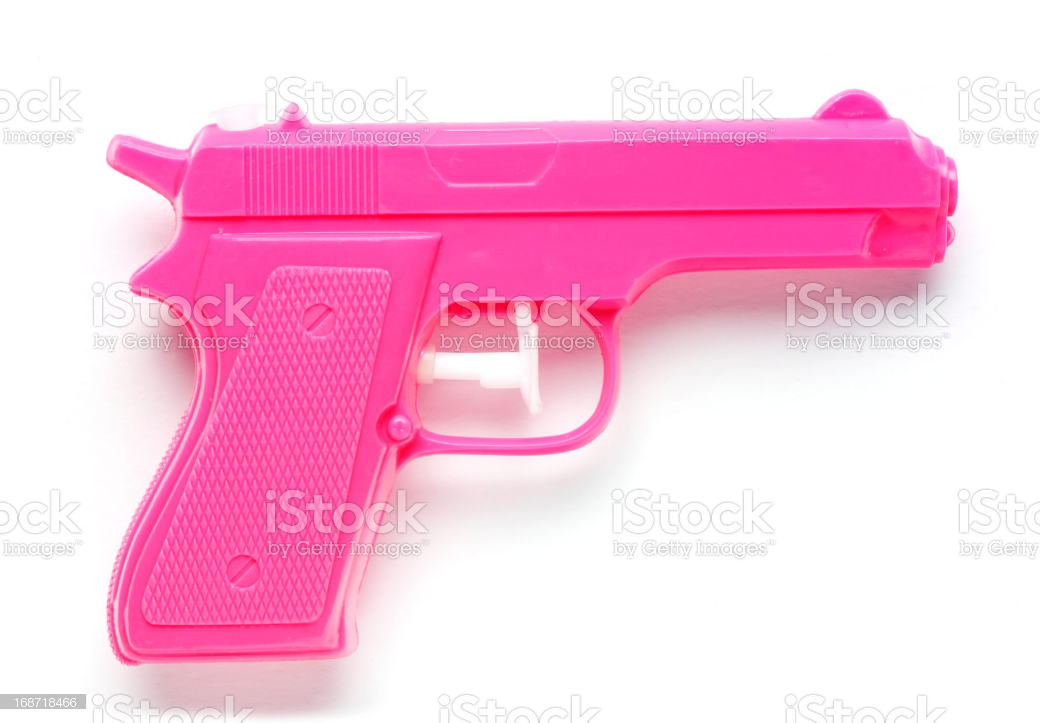 Pink Water Pistol royalty-free stock photo