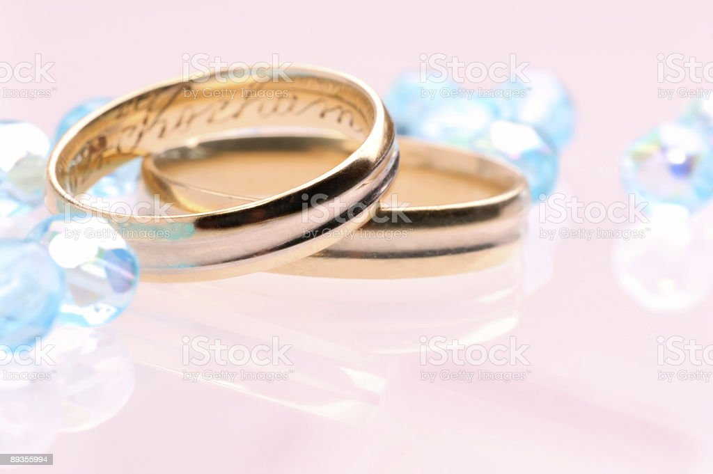 Pink Wedding royalty-free stock photo