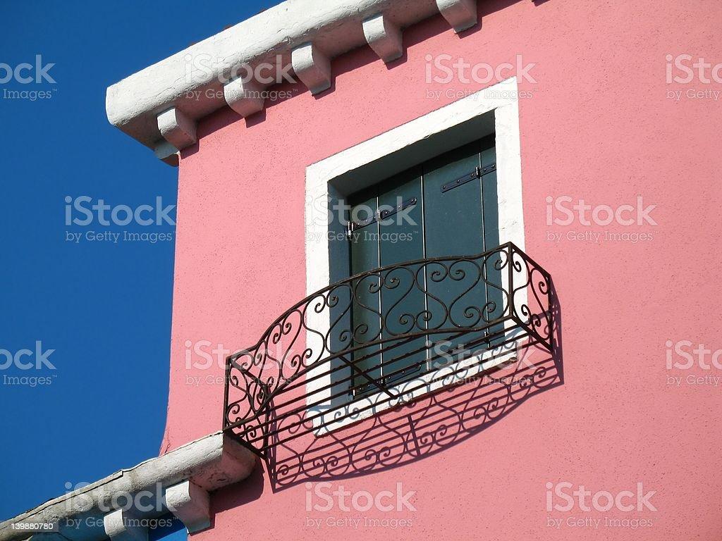 pink window royalty-free stock photo