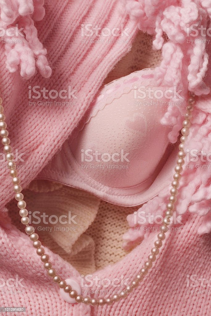 Pink Woman's clothes royalty-free stock photo
