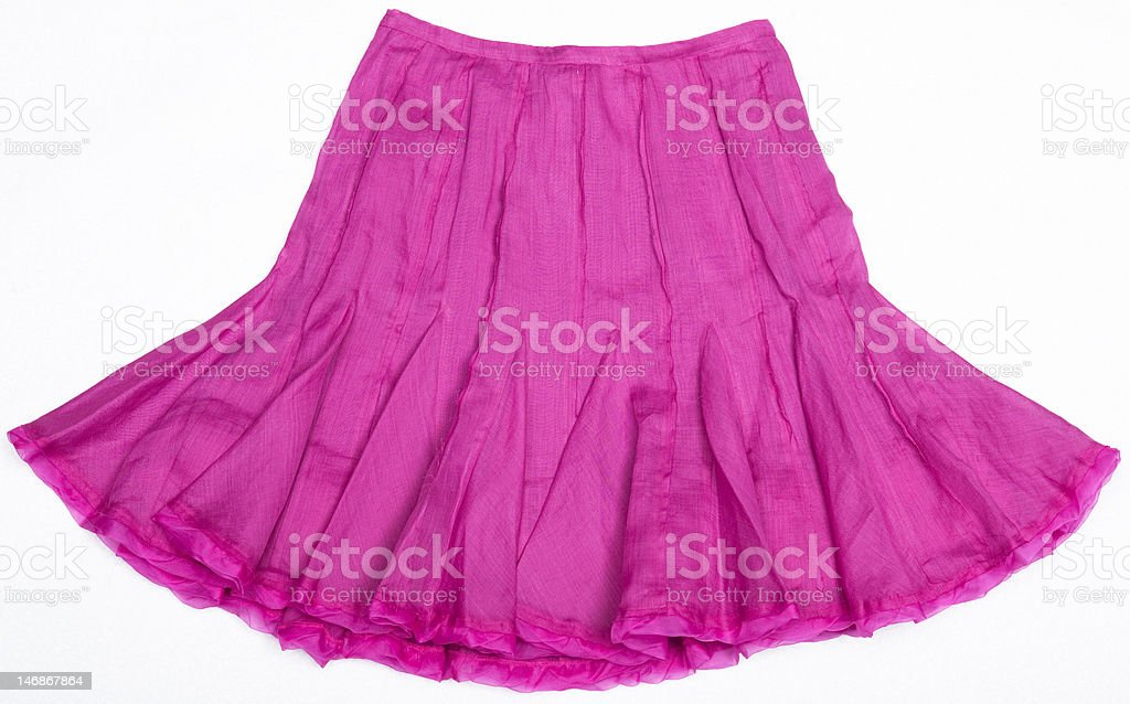 Pink Women's skirt royalty-free stock photo