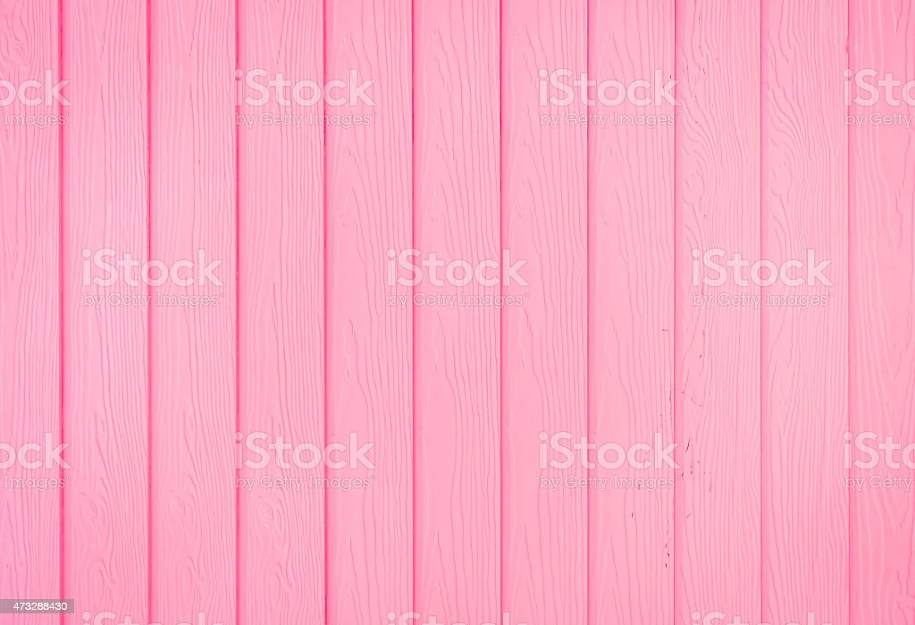 Pink wooden stock photo