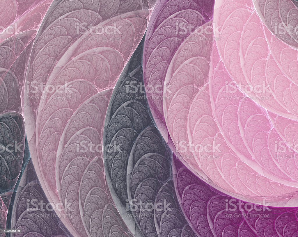 Pink-purple fractal background royalty-free stock photo