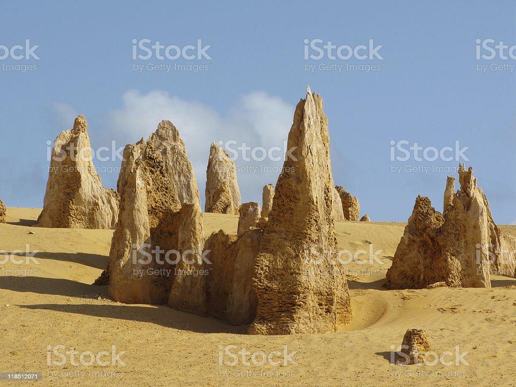 Pinnacle Desert stock photo