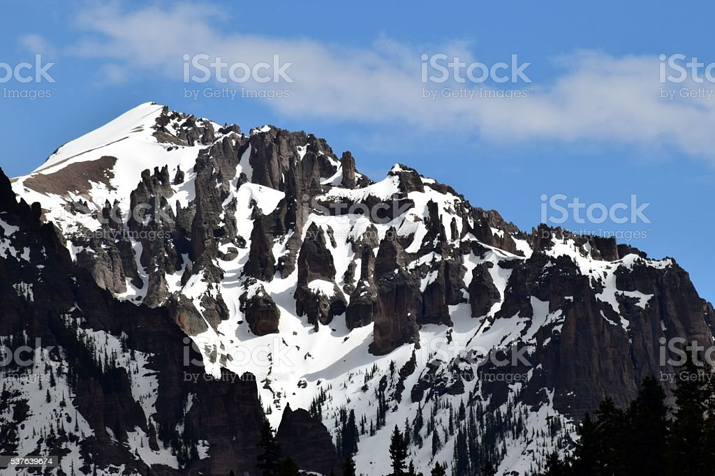 Pinnacle Peak stock photo