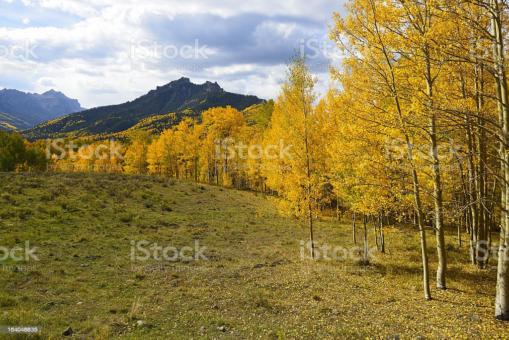 Pinnacle Ridge on Owl Creek Pass royalty-free stock photo