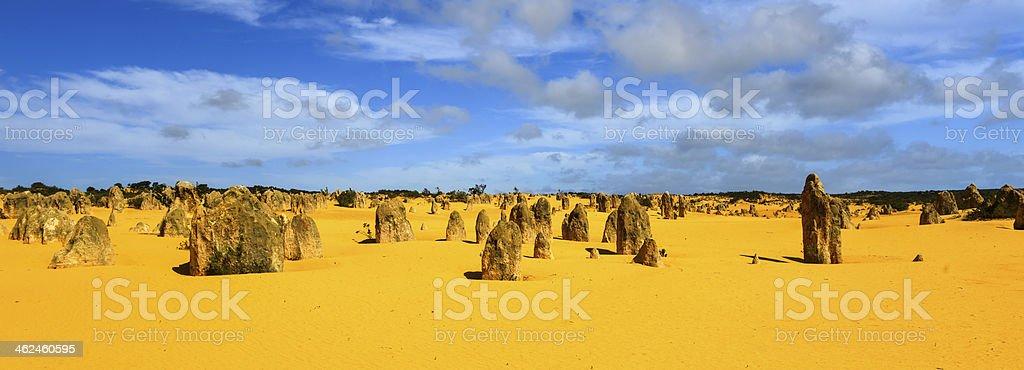 Pinnacles Desert, Australia stock photo