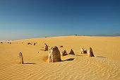 Pinnacles Desert in Australia