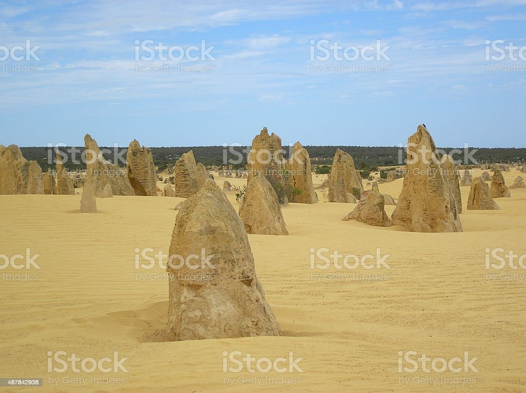 Pinnacles stock photo