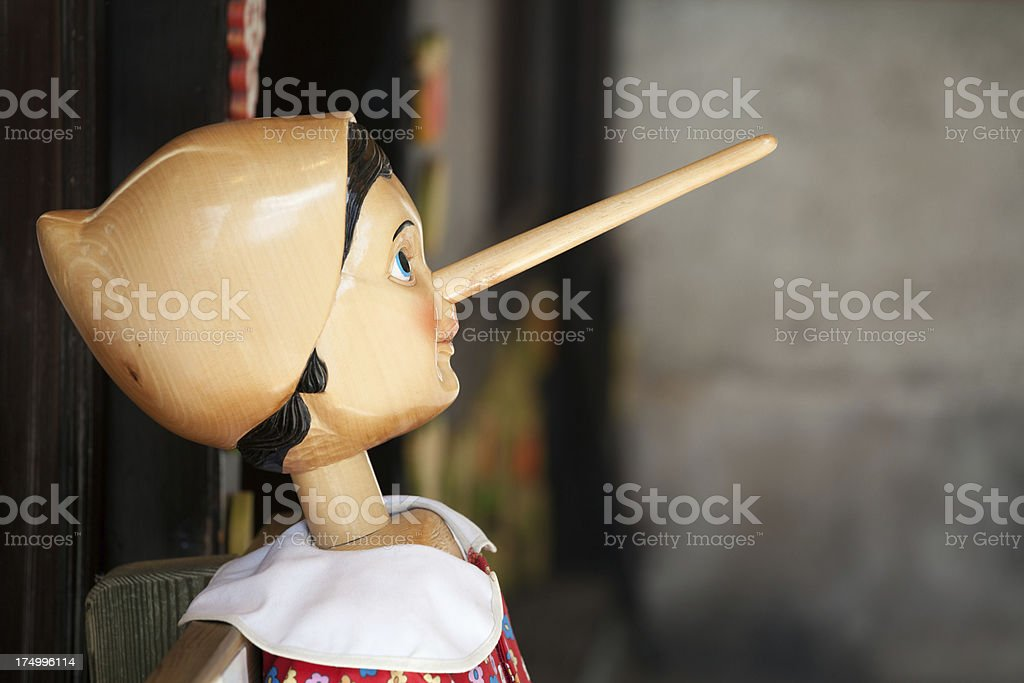 Pinnochio stock photo