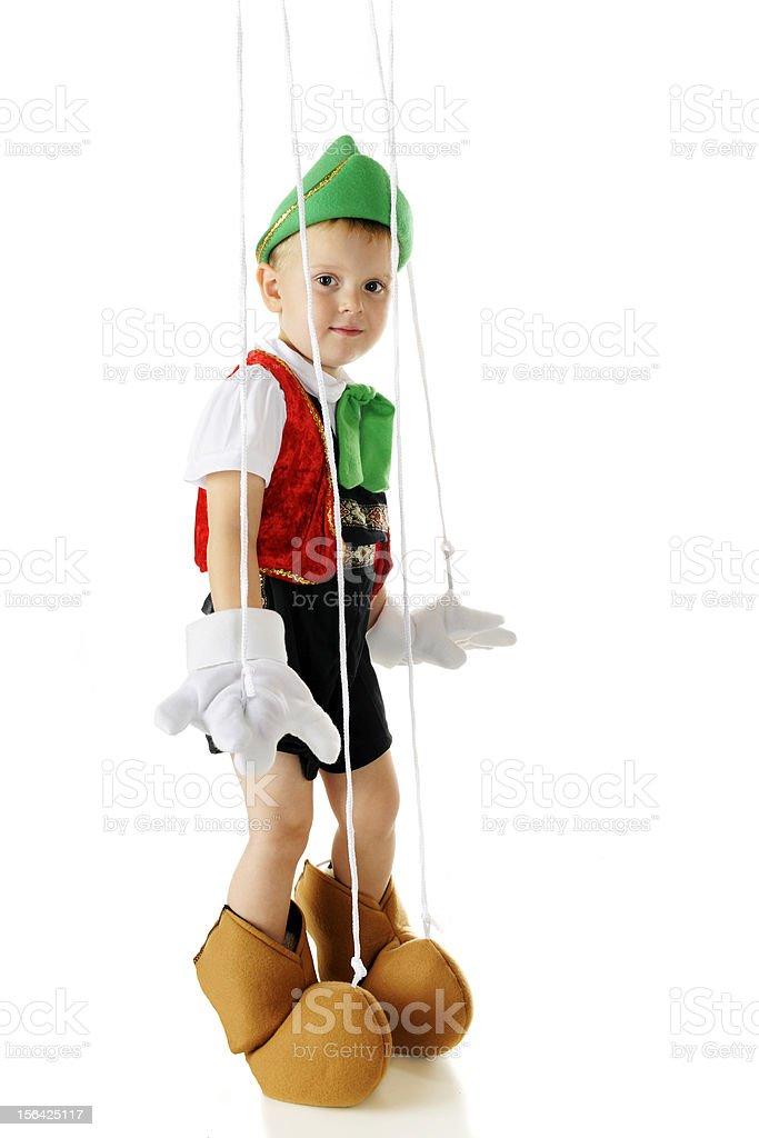 Pinocchio Boy royalty-free stock photo