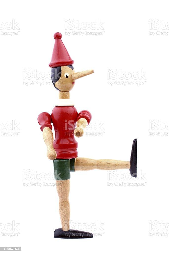Pinocchio stock photo
