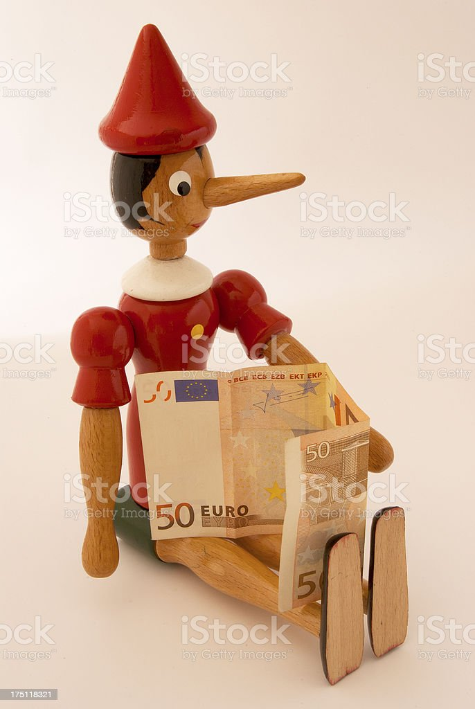 Pinocchio royalty-free stock photo