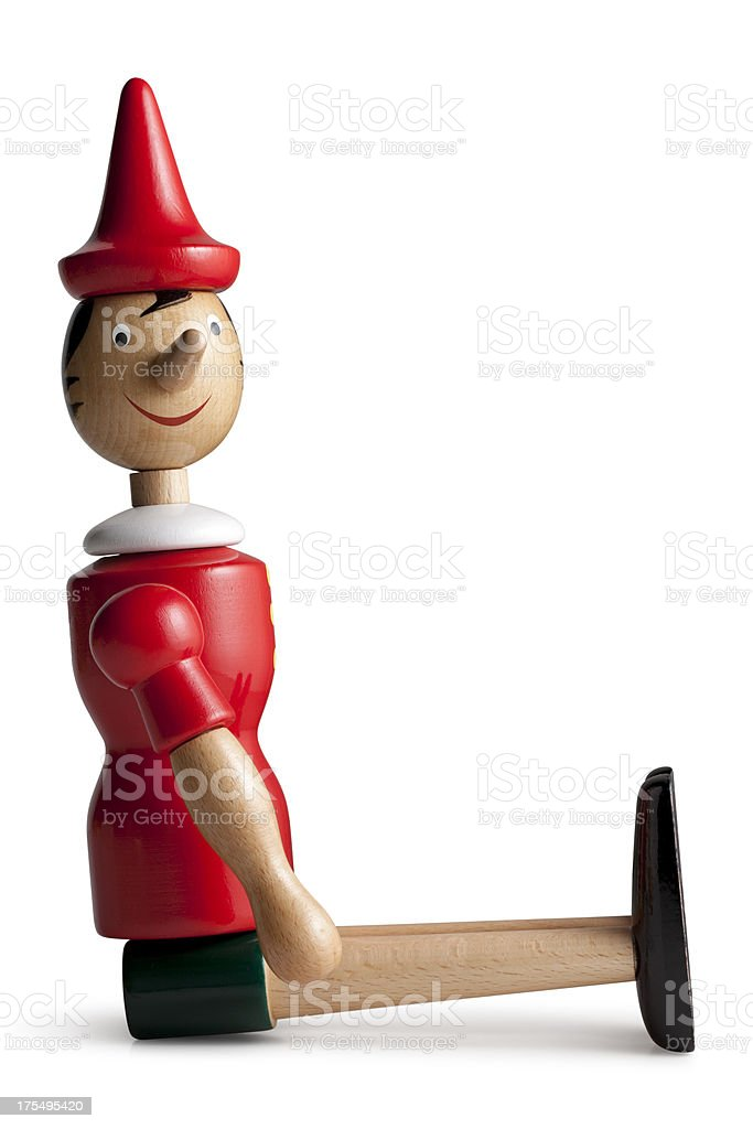 Pinocchio. stock photo
