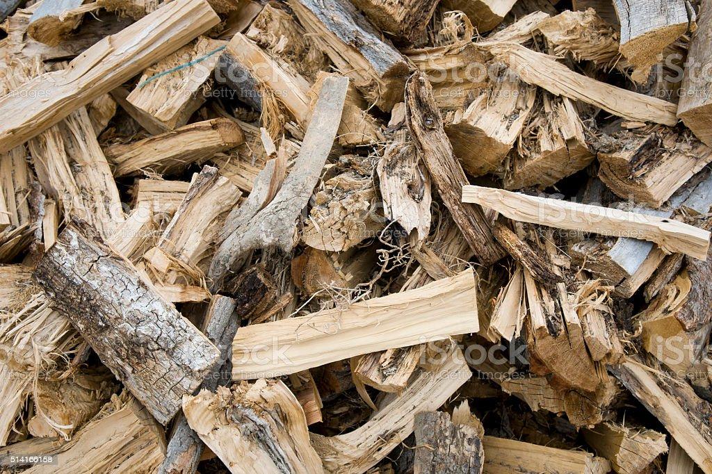 Pinon Fire Wood stock photo