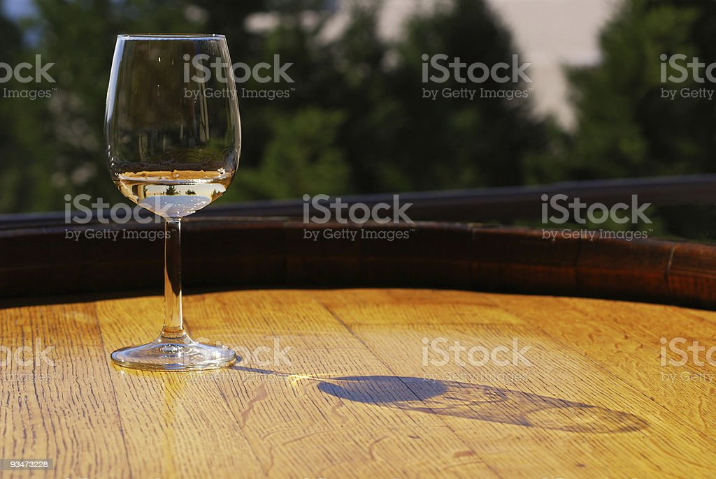 Pinot Gris Wine stock photo