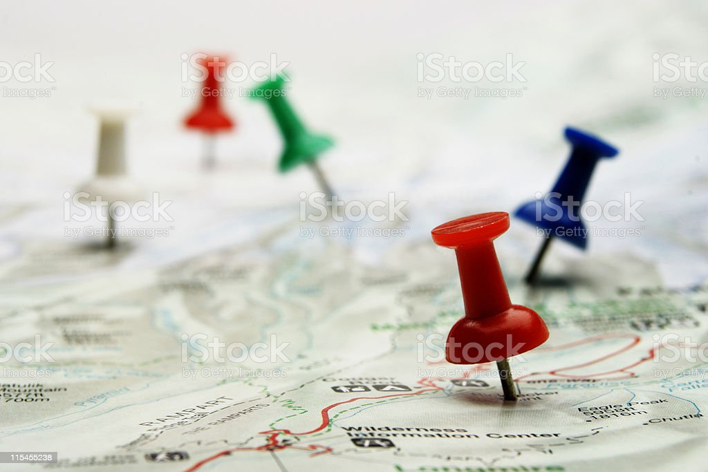 Pinpoint stock photo