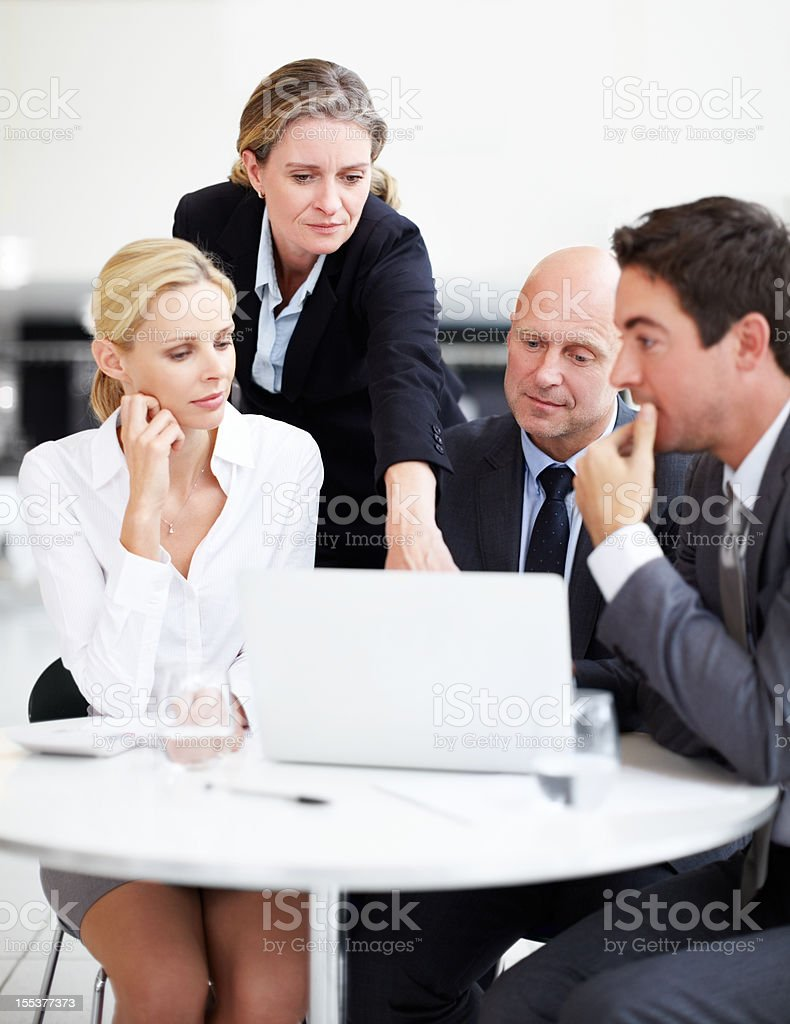 Pin-pointing the critical issues royalty-free stock photo