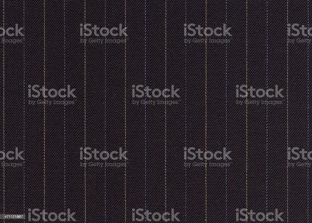 Pinstripe Close Up stock photo