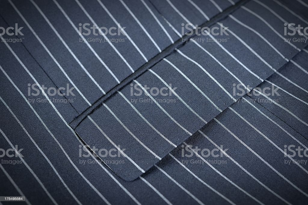 Pinstriped suit texture stock photo