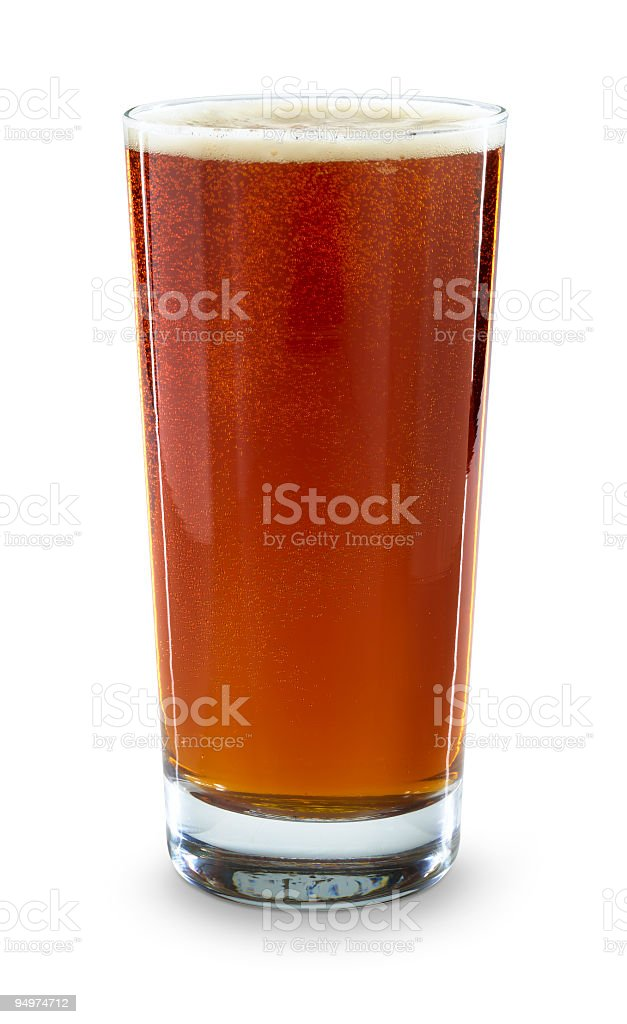 Pint of Ale royalty-free stock photo
