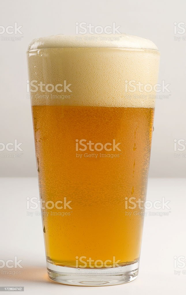 Pint of Beer - Pale Ale royalty-free stock photo