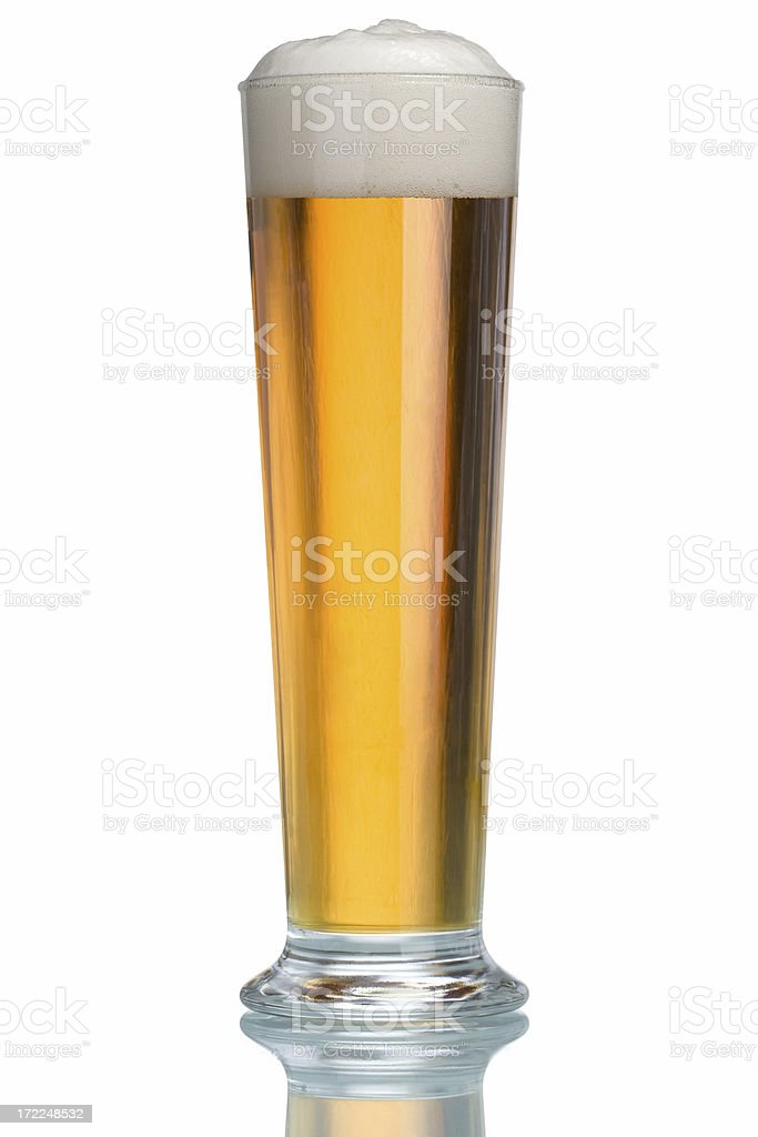 Pint of Beer royalty-free stock photo