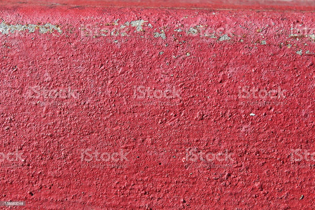 Pinterest Backgrounds & Natural Textures: bright red paint on concrete stock photo