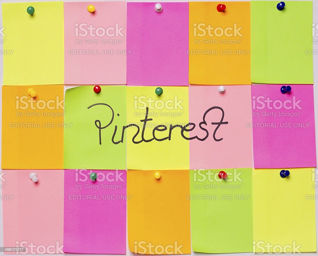 Pinterest royalty-free stock photo