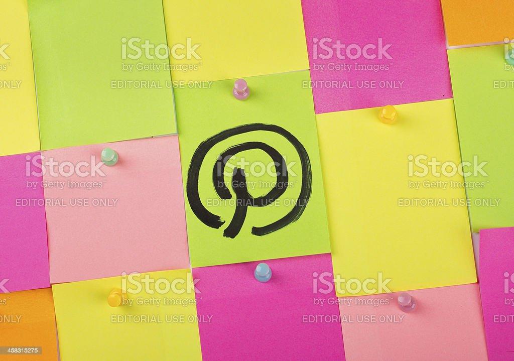 Pinterest stock photo