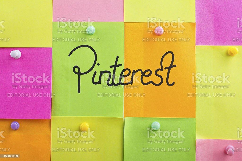 Pinterest royalty-free stock photo