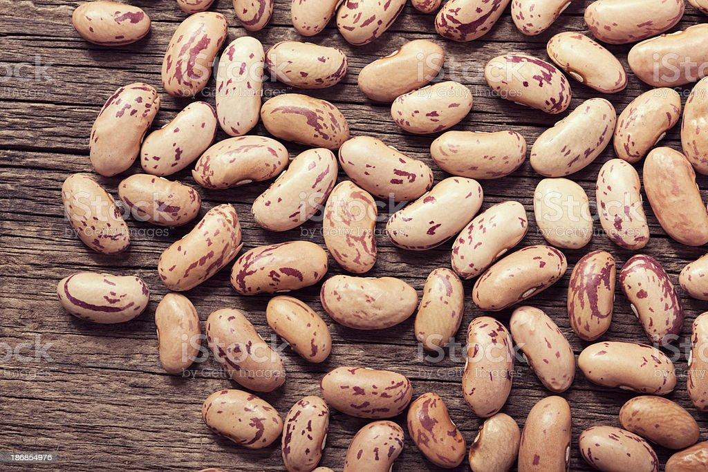 Pinto bean stock photo