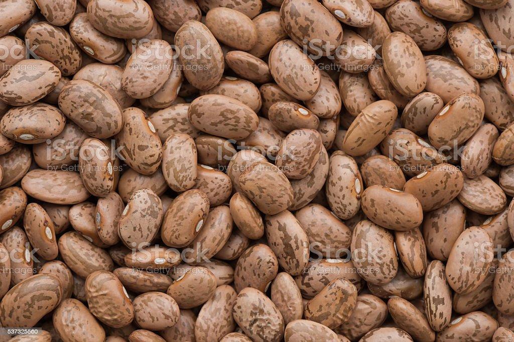 Pinto beans background stock photo