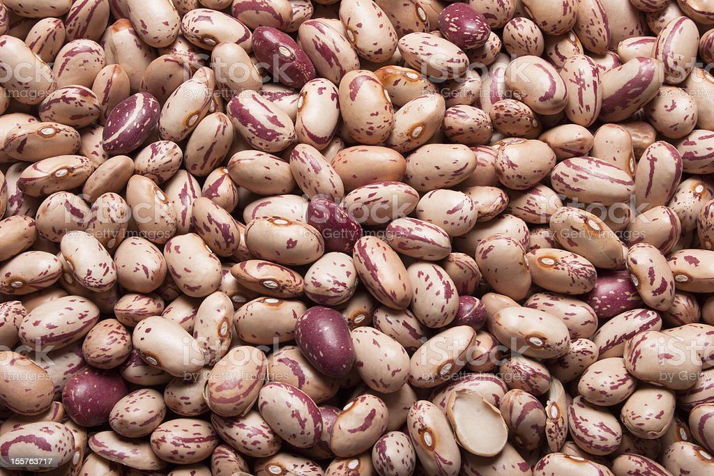 Pinto beans royalty-free stock photo