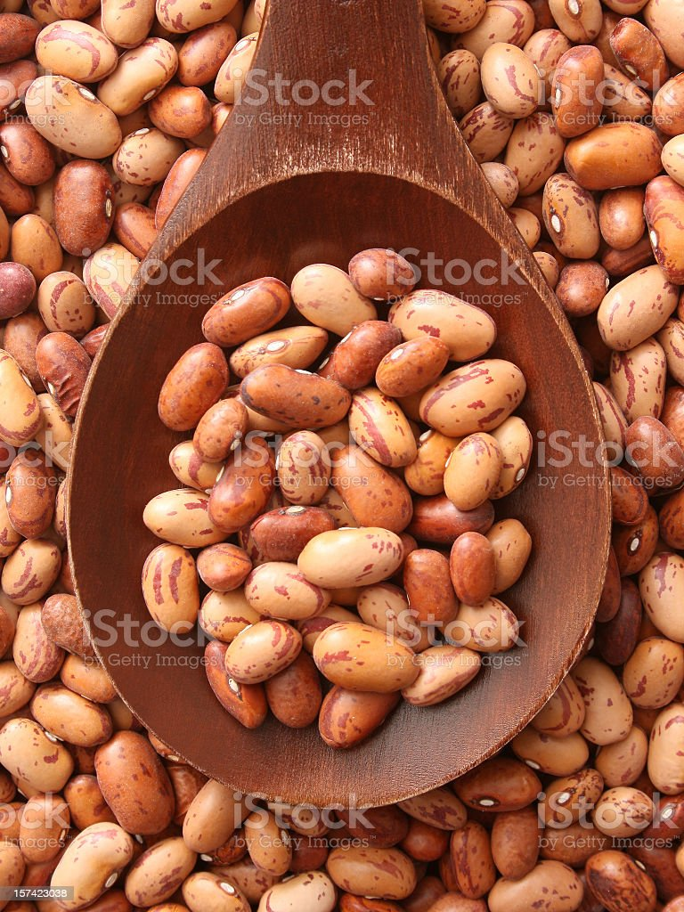 Pinto beans royalty-free stock photo