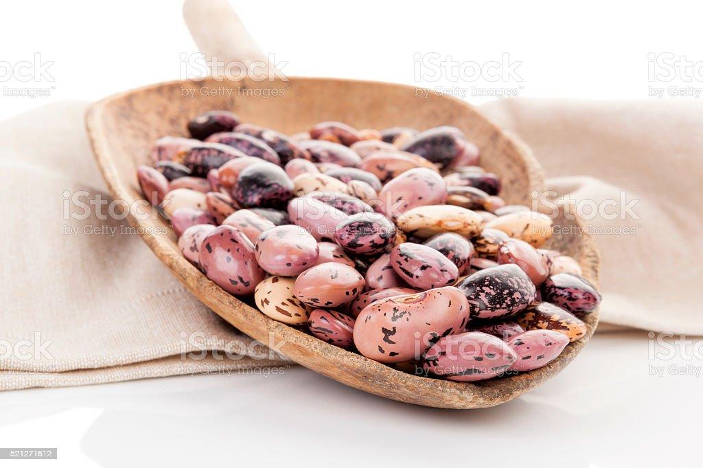 Pinto beans. stock photo