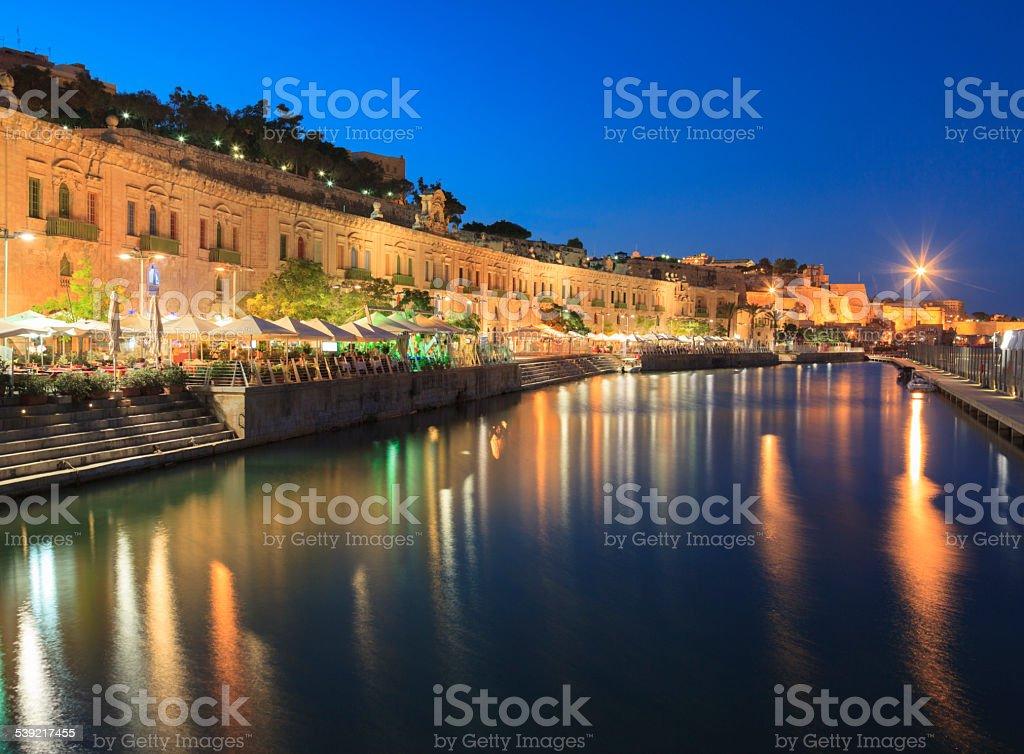 Pinto Wharf, Valletta, Malta stock photo