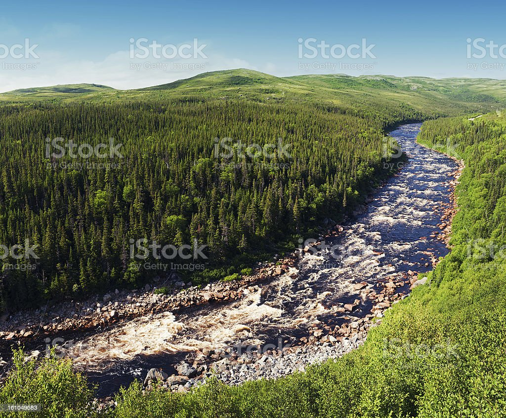 Pinware River stock photo